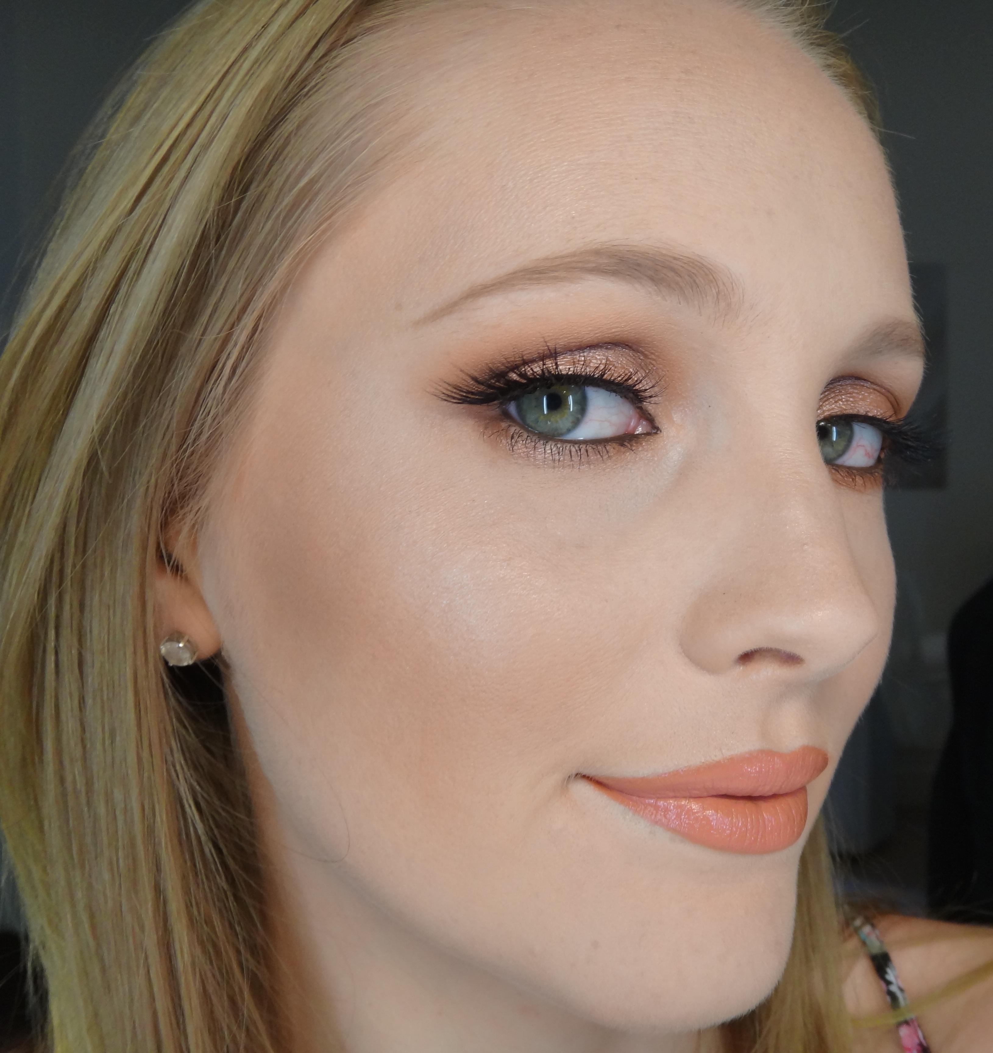 Warm Glowy Smokey Eye Jasmyn West Makeup Artist